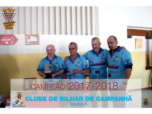 Final da 4ª edição do Campeonato Inter-Associativo de Bilhar de Campanhã