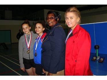 Namibian Open Ladies Singles Finalists
