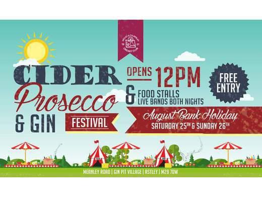 4th Annual Cider, Prosecco & Gin Festival