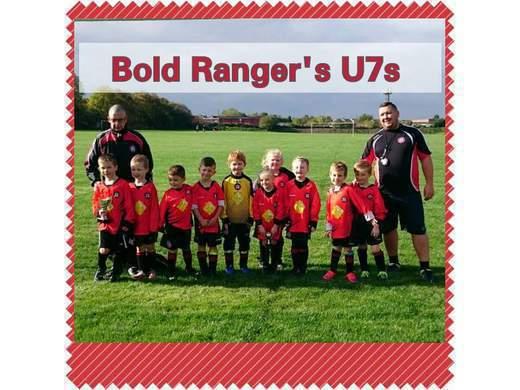 Bold Rangers JFC U8'S Rockets
