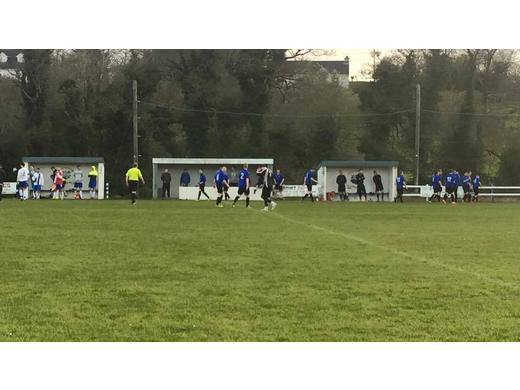 Ballina Town B defeated Moy Villa 2-1 after extra time