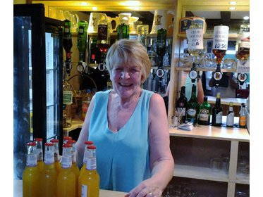 Wendy who along with husband Mick now run our bar