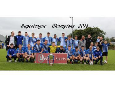 Ballina Town - Elverys Sports Super League Champions 2018