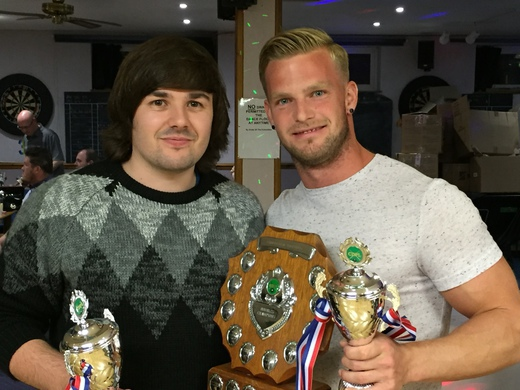Double Cup Champions - David Finch & Billy Kyle