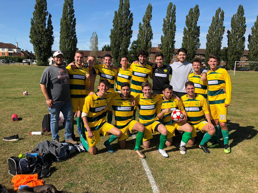 Hampstead Ducks win their first ever game in the MGBSFL