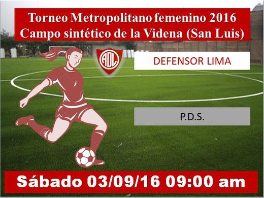 Defensor Lima vs P.D.S.