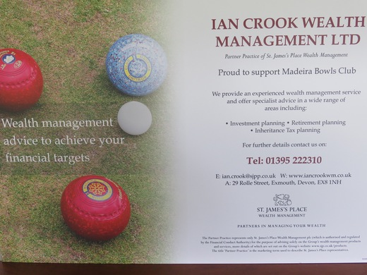 Financial seminar with Ian Crook- Friday 21st July