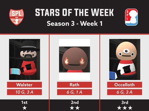 Pro Division 3 Stars - Week 1