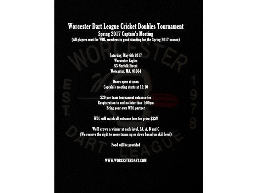 WDL Cricket Doubles - RESULTS