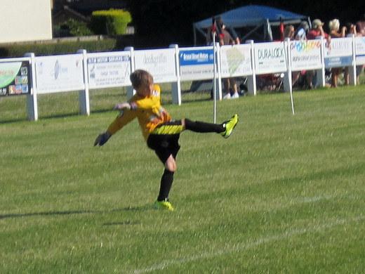 Freddie's goal kick