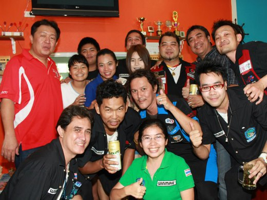 Chonburi Darts Club Crew