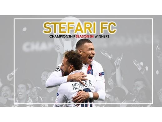 Stefari Seal Championship Title.