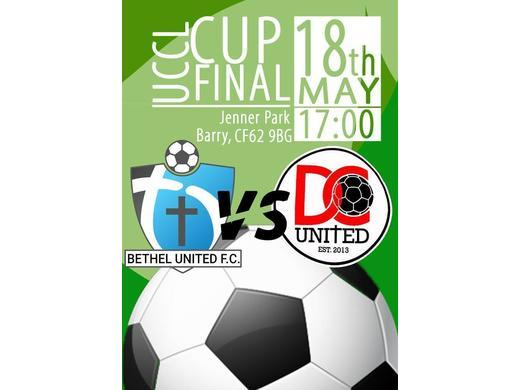 UCCL Cup & Plate Finals - Saturday 18th May