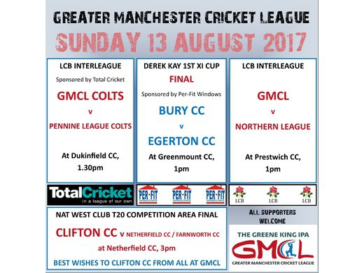 Sunday 13th August