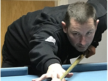 Crossbar A star Mark Boardman favoured beer over the baize while his side lost