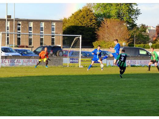 Jarlath O'Malley scores the winner for Balyheane v Manulla