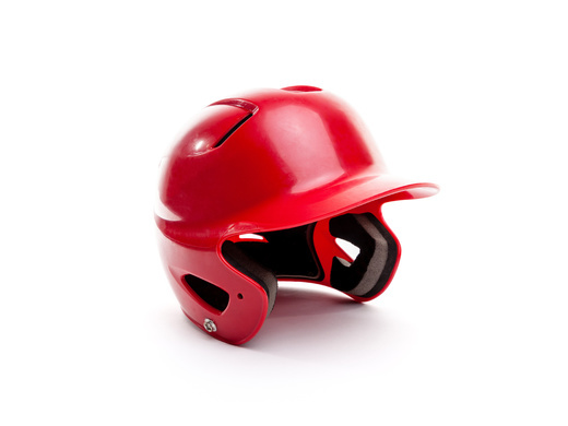 Check your baseball helmets
