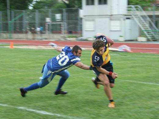 LMFF. Camioneros Campeones de Madrid de Flag Football