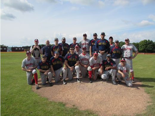 The Plymouth Mariners and Bristol Bats.  Two of the founder teams of the South West Baseball League.