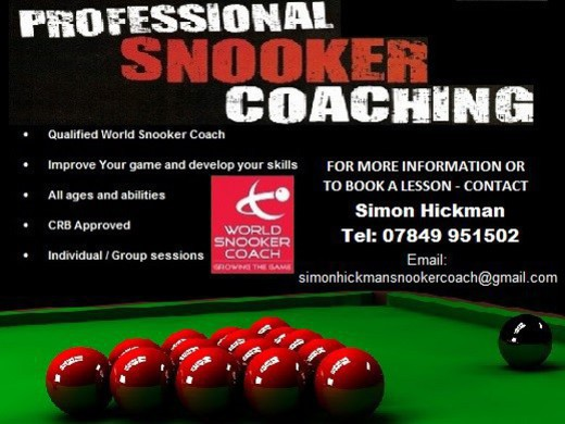 SIMON HICKMAN - SNOOKER COACH