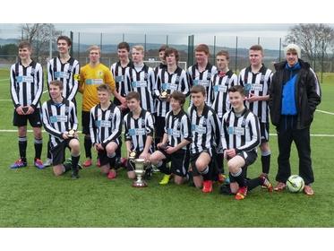 Heston Rovers 17's Ryedale Cup Winners 2014