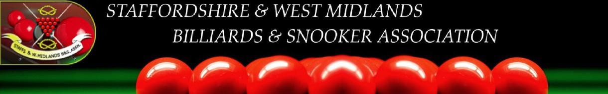 STAFFORDSHIRE & WEST MIDLANDS BILLIARDS & SNOOKER ASSOCIATION