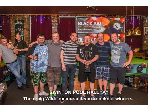 Craig Wilde Memorial Team Knockout Champions
