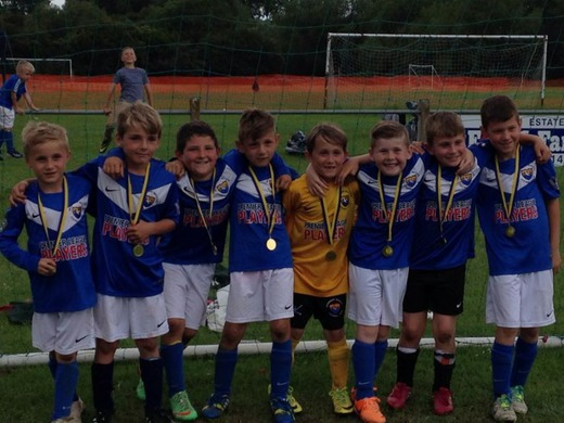 Another great win for the Under 8's at Hucclecote Tournament