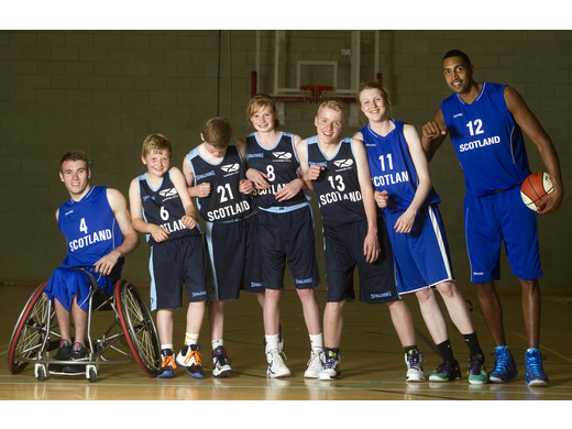 Kieron Achara lends support to new generation - FIBA U14 International Summer Slam