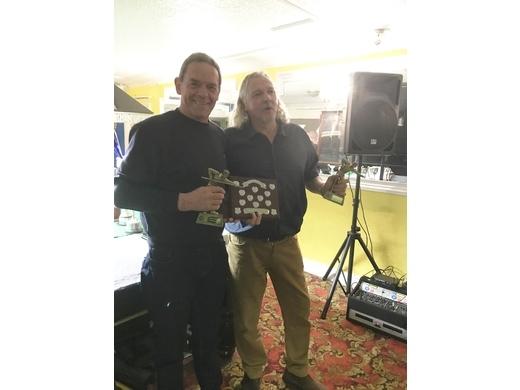 Jason MacGowan and Nigel Pipe