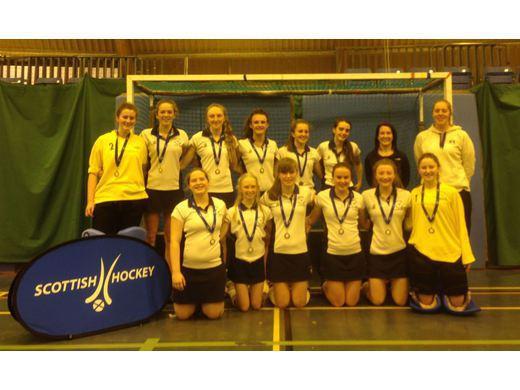Midlands U18 Indoor girls 2015
