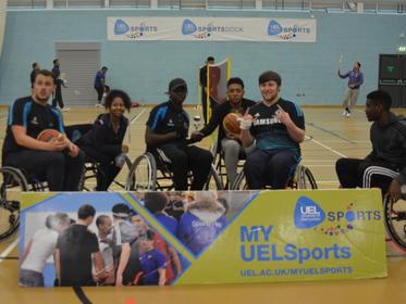 Wheelchair Basketball Tournament Winners