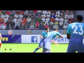 FIFA 18 EKŞİLİG 1.Grup maçlarının ilk golü ve galibiyeti Arsenal'li @cubi'den!