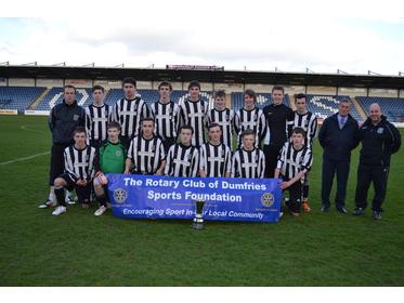 Heston Rovers Rotary Cup Winners  2013
