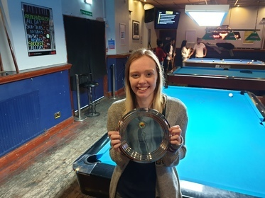 Mick Walkerdine cup runner up winter 2019 Ellis Green