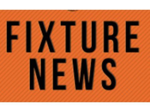 September/October Fixtures - UPDATED