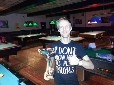 Division 2 winner winter 2014 Lee Brooks