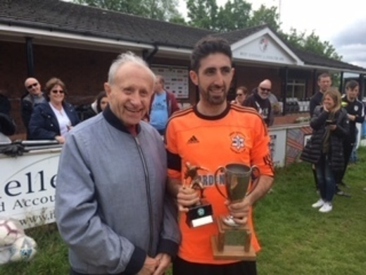 Player of the Year 2018-19 - Tony Waltzer Trophy - Rafi Kay (Leeds Maccabi)