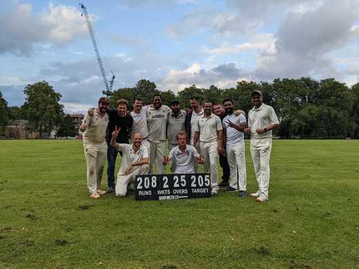 Week 18 in NELCL: Wins for The Camel & London Fields.