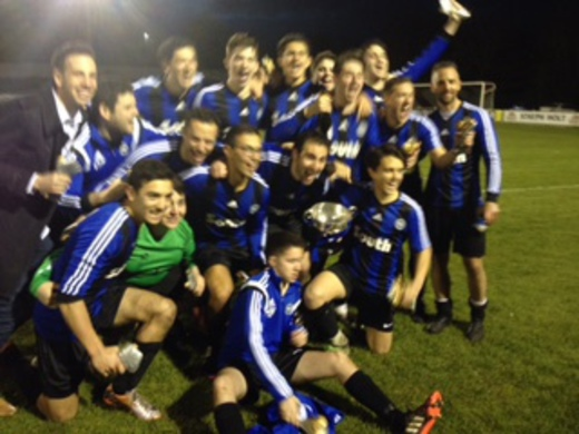 2014-15 South Mcr Sports 2nd (Tony Cohen Cup Winners)