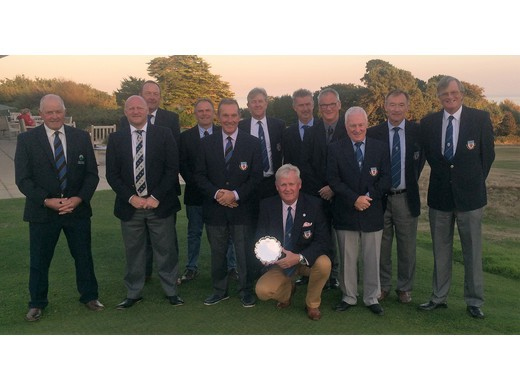 Seniors Channel League Champions 2018 - Devon
