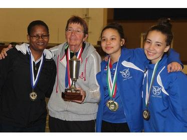 Namibian Table Tennis Open 2016  Top 4 Ladies