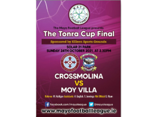 Tonra Cup Final Preview