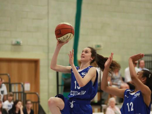 Scotland Girls win the plate final