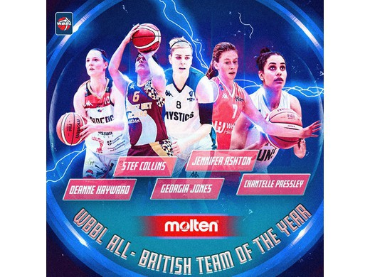 Molten WBBL All-British Team 2017-18