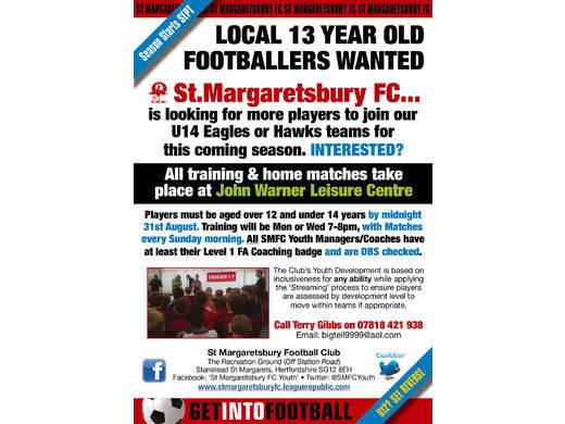 U14 leaflet