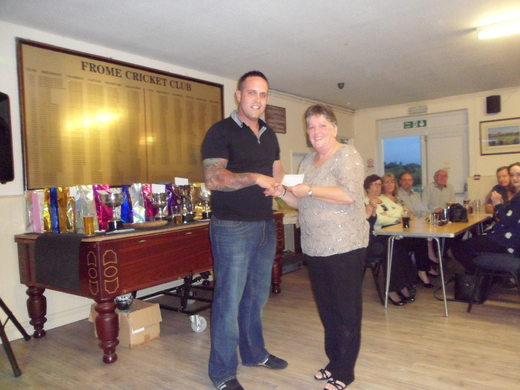Linda Porter - joint highest ladies score