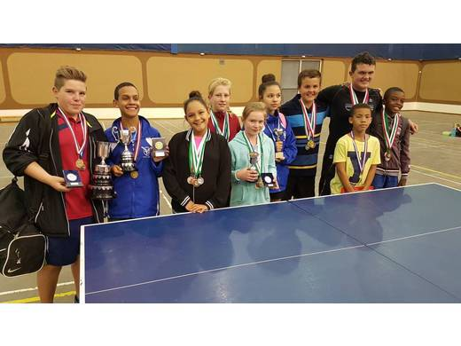 THE NAMIBIAN JUNIOR OPEN TABLE TENNIS COMPETITION 2017