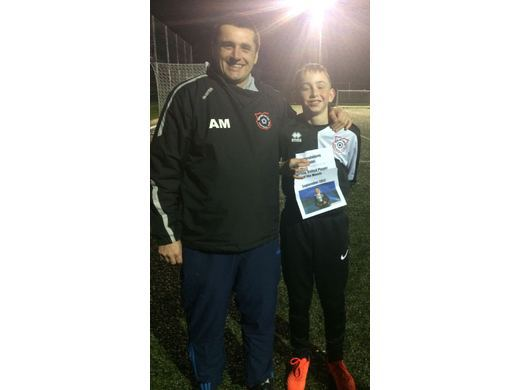September player of the month - Robbie