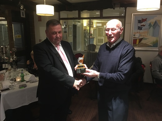 Tony Chant, Walwin Trophy for Best Club Member Voted At AGM
